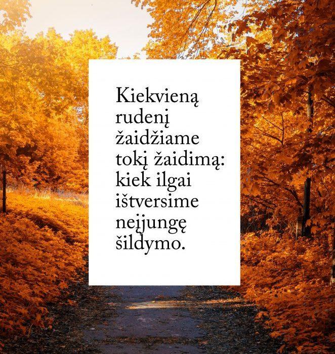 Kiekvieną rudenį