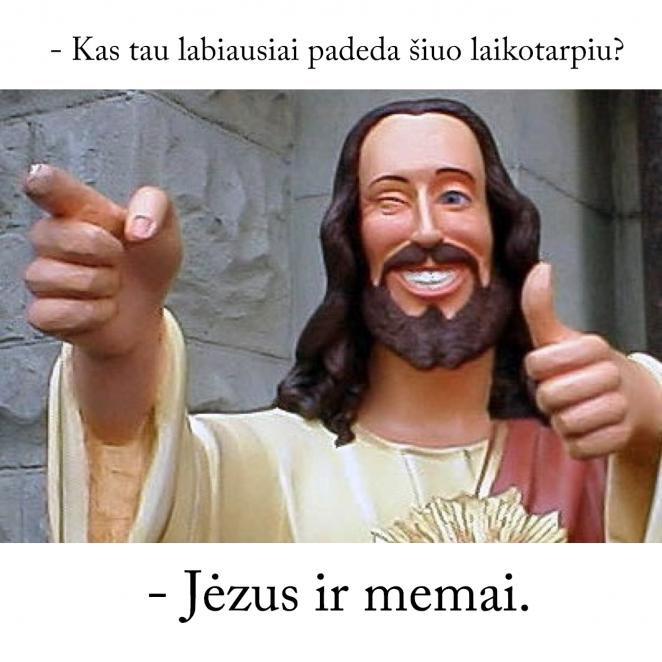 Jėzus ir memai