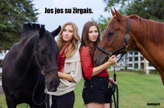 Jos jos su žirgais