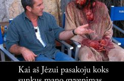 Kai aš Jėzui pasakoju koks sunkus mano gyvenimas