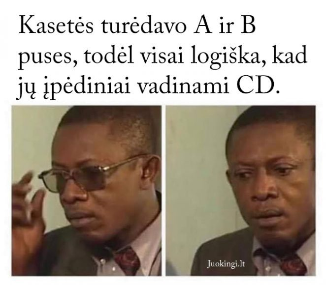 Kasetės ir CD