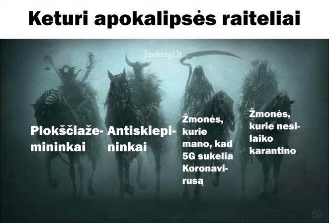 Keturi apokalipsės raiteliai