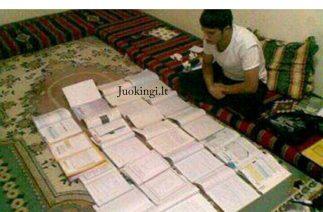 Paskutinė naktis prieš egzaminą