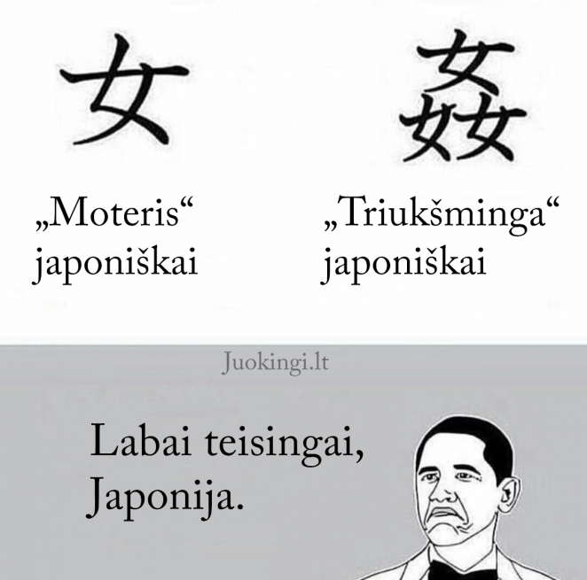 Moteris japoniškai