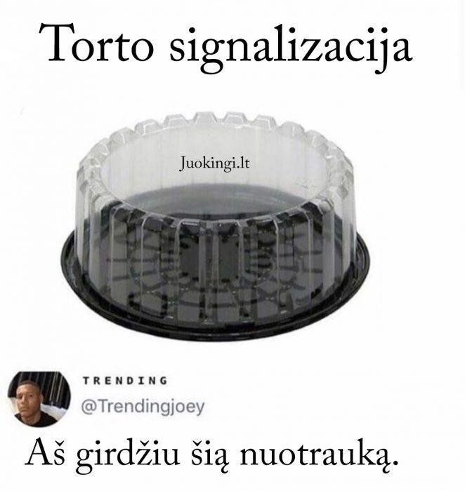 Torto signalizacija
